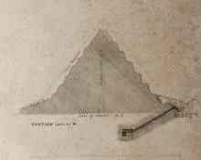 Cheops small Pyramid 6 - by E.J. Andrews, 1842