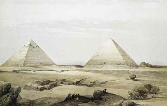 It is hard to imagine how big the Giza Pyramids really are.